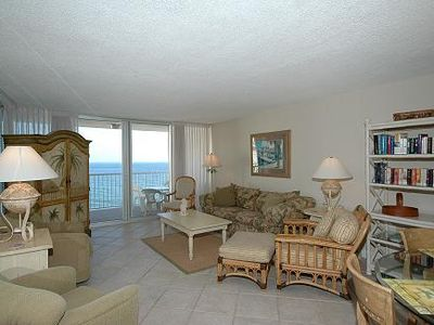 Photo for Shoreline Towers 2104 - 2 Bdrm/2 Bath Beachfront Vacation Rental on beach!