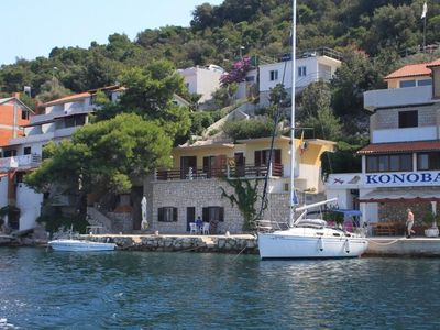 Photo for Apartment in Zaklopatica (Lastovo), capacity 2+3