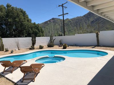 Photo for Mid Century Modern Pool House w/ Mountain Views 10 min to Downtown Palm Springs