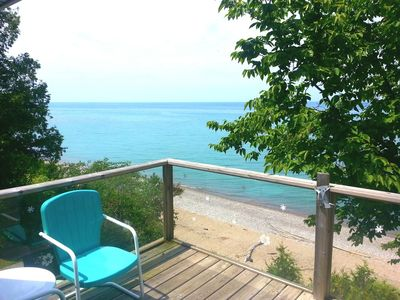 Photo for Beach Front Geodome Cottage at Port Albert Cottages