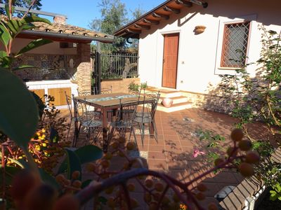 Photo for Surrounded by greenery 10 minutes from the sea (Malva cottage)