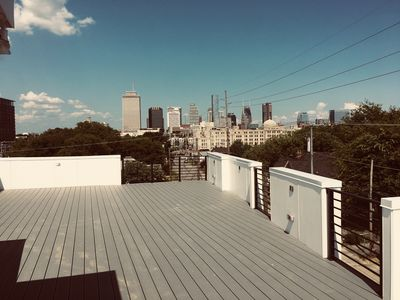 Photo for 5-Upscale Home with Roof Top Deck view of Downton