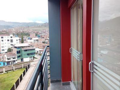 Photo for Cusco New apartment on 7th floor San Sebastian