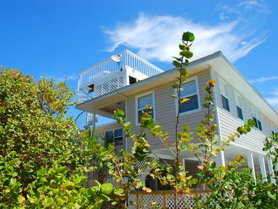 Photo for COZY 2 BEDROOM BEACHVIEW HOME WITH PRIVATE POOL AND SPA LESS THAN 300 FT TO THE BEACH!!!