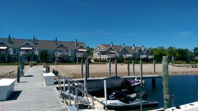 Photo for Beautiful condo on Lake Charlevoix at Pine Lake Club