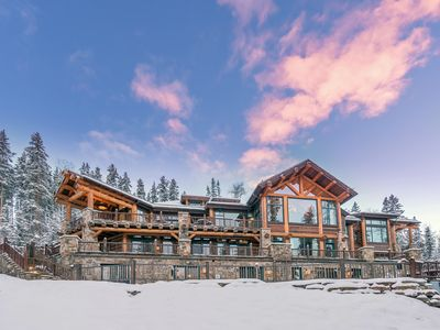 Photo for AUTUMN RIDGE - Estate with Spa, Theater, Bowling Alley and Arcade, Ski In/Out