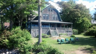 Photo for 7 Bedroom typical Maine seasonal home on the water