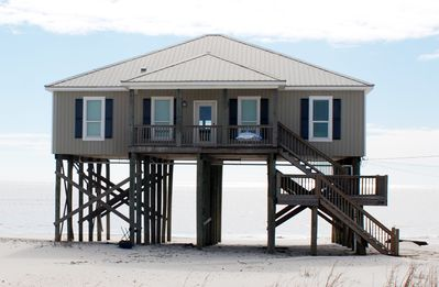 Photo for Right on the Gulf of Mexico, pet friendly.  Far West end of Dauphin Island