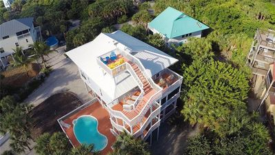 Photo for IMMACULATE BEACHVIEW 4 BEDROOM PRIVATE POOL HOME ON NORTH CAPTIVA JUST BLOCK TO THE BEACH!!!