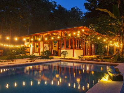 Photo for Magical 4 Bedroom Jungle Paradise w/ Luxury Pool only 1 mile from Beach & Town!