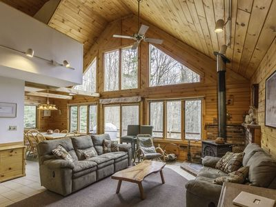Photo for Waterville Estates Log Home Getaway For The Whole Family