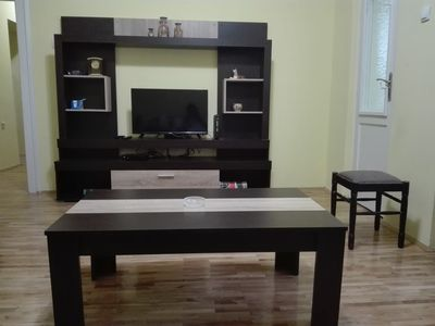 Photo for Apartment accros Belgrade Fair (near city center)