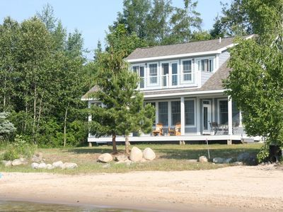 Photo for New Luxury Waterfront Home minutes from Suttons Bay and Traverse City