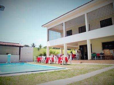 Photo for Excellent house in Maria Farinha 5 suites, pool