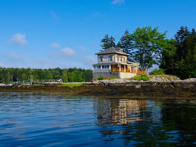 Photo for Maine Coastal Island cottage/Boat is included