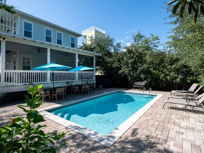 Photo for BRAND NEW LISTING!! - BILLIKEN BUNGALOW Next to Seaside – Private Heated Pool, Minutes to Beach a...