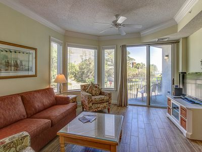 Photo for 2113 SeaCrest-1st Floor, steps to the beach & Coligny. Landscape View