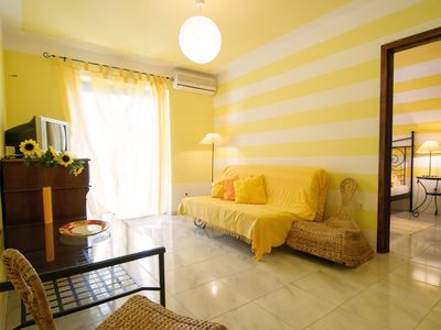 Photo for In the city center, quiet location, only 450 meters from the beach, 600 meters from the old town, free WiFi