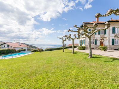 Photo for BIDART, SEA VIEW HOUSE WITH SWIMMING POOL - BL276 - BARNES