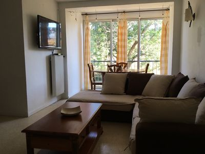 Photo for Nice apartment in residence with shaded park