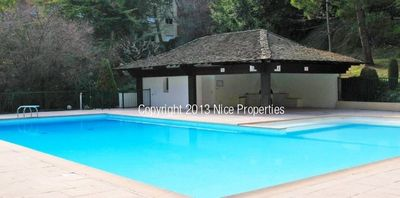 Photo for Beautiful apartment 4 rooms terrace, swimming pool garden parking