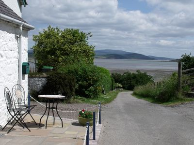 Photo for Cosy cottage in spectacular location overlooking Balcary Bay