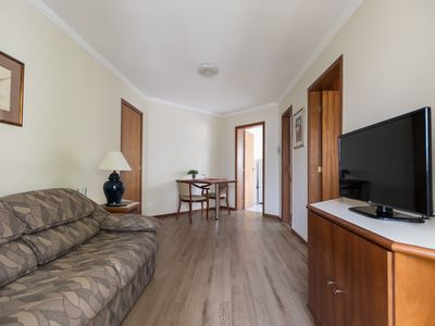 Photo for Cozy and cozy 1 bedroom apartment in the center of Curitiba