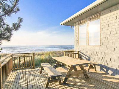 Photo for Luxury Oceanfront Home w/ Panoramic Views of Pacific in Neskowin