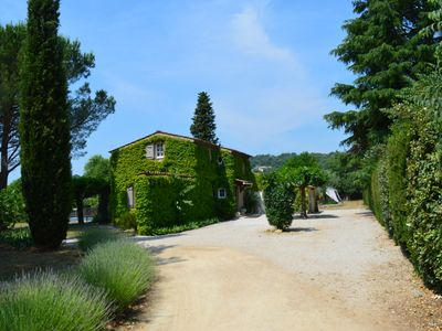 Photo for Provencal farmhouse, private heated pool with secure gate