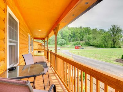 Photo for NEW! Cozy Bryson City Cabin 6 Miles to Harrah's!