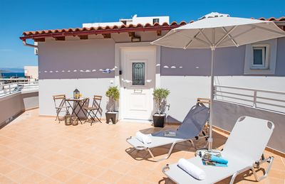 Photo for New Modern Apartment, 3' to the Beach,Next to Amenities,Close to Chania Old Town