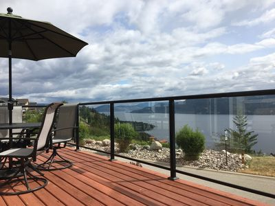 180' view of gorgeous Lake Okanagan.