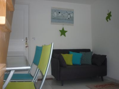 Photo for Cozy duplex studio with terrace and independent, Gulf of Morbihan