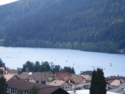 Photo for New Chalet luxury, exceptional lake view, between tracks and lake