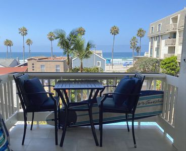 Photo for Beautiful Panoramic Ocean Views from Upscale Remodeled Beach Condo!