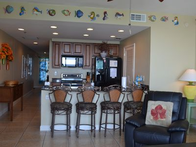 Photo for Gr8 Monthly discount! Splash luxury Condo on 7th flr. Lazy river,kids play etc.