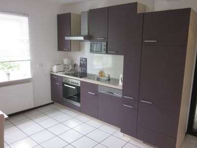 Photo for Cozy 2-room apartment on the village square. Everything you need for a short time *)