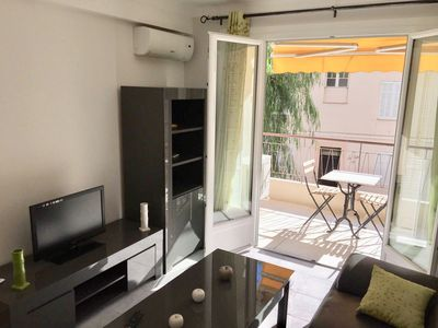 Photo for 2BR serviced appartement near La Croisette Cannes center with balcony