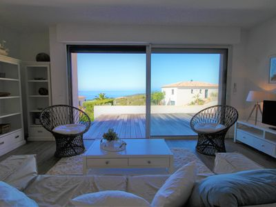 Photo for Luxury apartment, sea view, new and contemporary