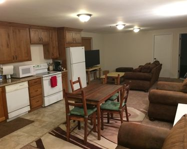 Photo for Spacious basement apartment available for short or long term rental