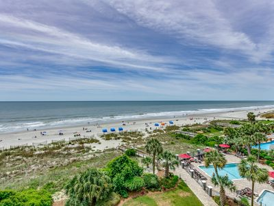 Photo for Luxury Oceanfront Three Bedroom Two Bath Condo at Carolina Dunes! (4th Floor)