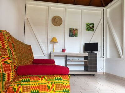 Photo for 1BR Bungalow Vacation Rental in sainte rose, Basse-Terre