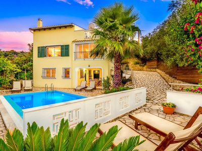 Photo for Beautiful villa with private pool, set just steps away from perfect sandy beach