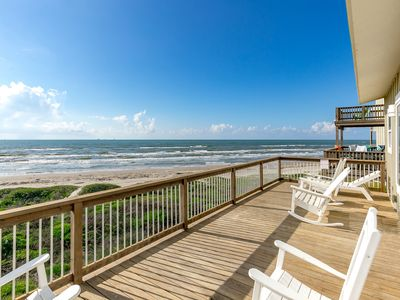 Photo for Beachfront 3BR w/ Dazzling Gulf Views