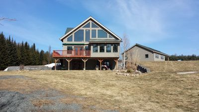 Photo for Beautiful Great Sacandaga Lake home with beach, dock and all amenities!