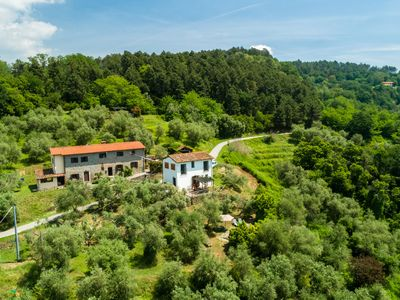 Photo for Beautiful holiday home with private swimming pool and stunning rural view