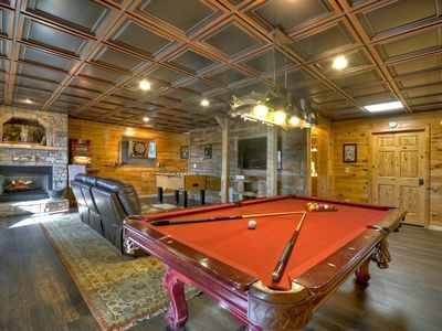 Photo for Amazing views abound in this lodge style cabin nestled in the Blue Ridge mountains