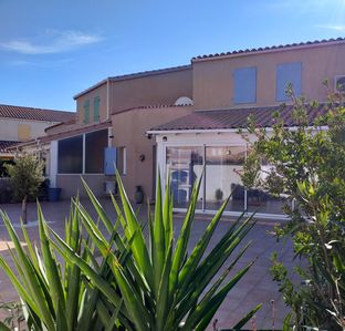 Photo for NEW! Comfortable villa 500m from the beach, Air conditioning, WIFI, residence with swimming pool