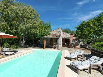 Photo for Wonderful holiday home in amazing location with private swimming pool