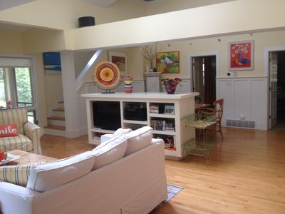Photo for Bright, Colorful, Cozy Home Close To Beach And Activities.